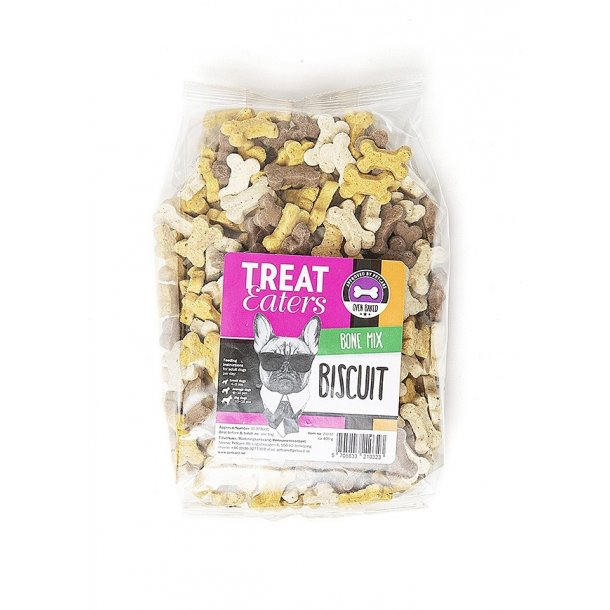 Petcare Treateaters Biscuit Bone Mix 400g