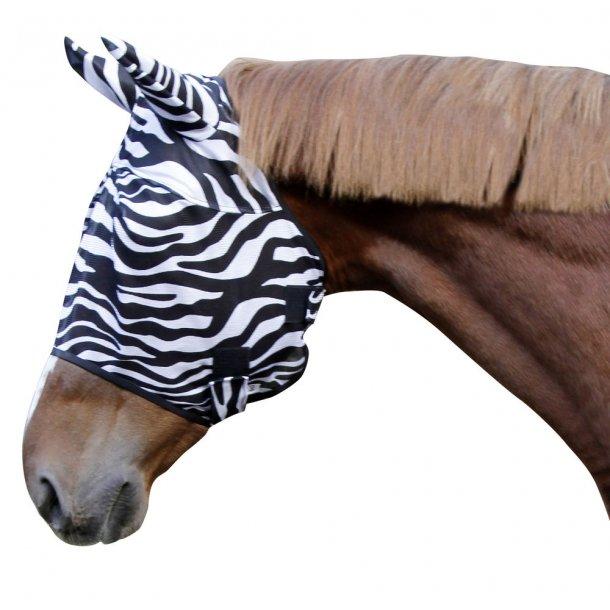 Fluemaske Zebra