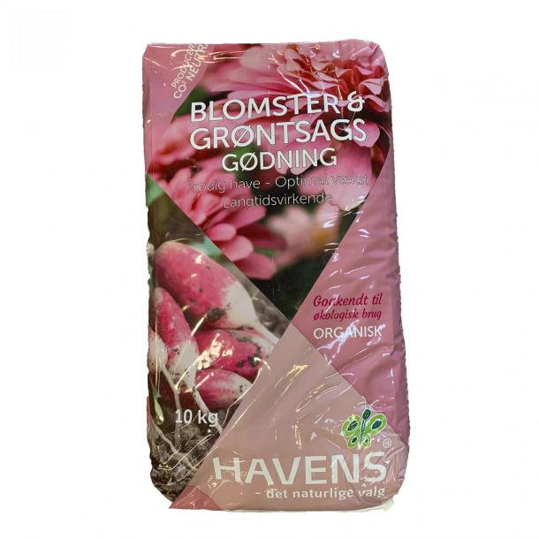 HAVENS Blomster og Grønsagsgødning 10 kg