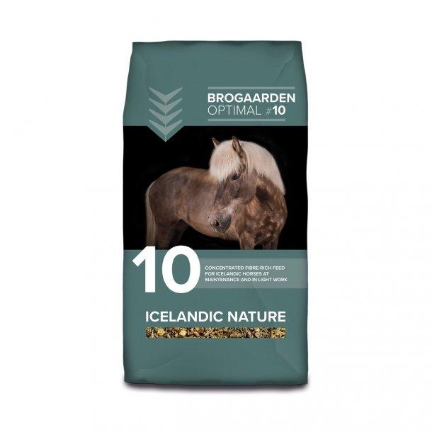 Brogaarden nr 10 Optimal Icelandic Nature  15 kg