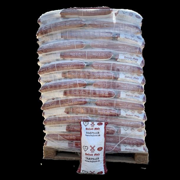 Højlund Premium Træpiller 6mm i 10 kg sække