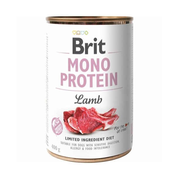 Mono Protein Vådkost Lam