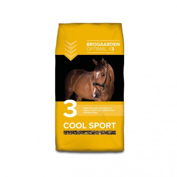 Brogaarden Optimal 3 - Cool Sport 15 kg