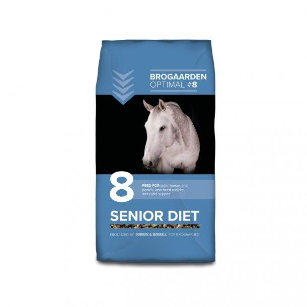 Brogaarden Optimal 8 - Senior Diet 15 kg