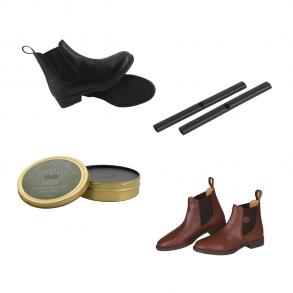 Støvler, tilbehør m.v