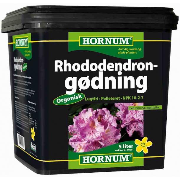 Hornum Rhododendrongødning 10-2-7