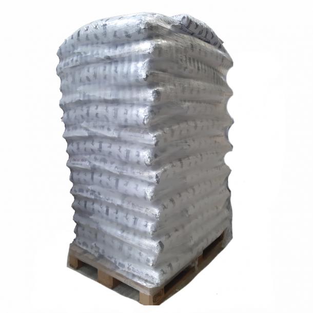 Højlund Basic Træpiller 8mm i 16 kg sække